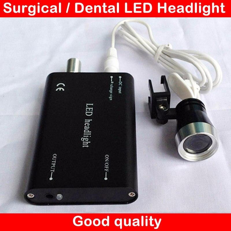 portable headlamp bright power led light surgical headlight dentist surgery dental head lamp