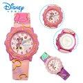 100% Genuine Disney Girl Cute Quartz Watch Children Mickey Mouse Cartoon Watch Best fashion Casual Simple Digital Style