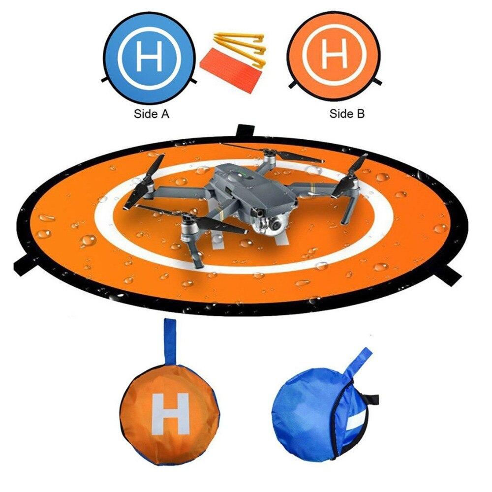 75cm Universal Fast-Fold Portable Landing Pad for DJI Mavic Pro, Phantom 2/3/4/4 Pro, Inspire 2/1, Gopro Karma, Parrot, UDI drone helipad