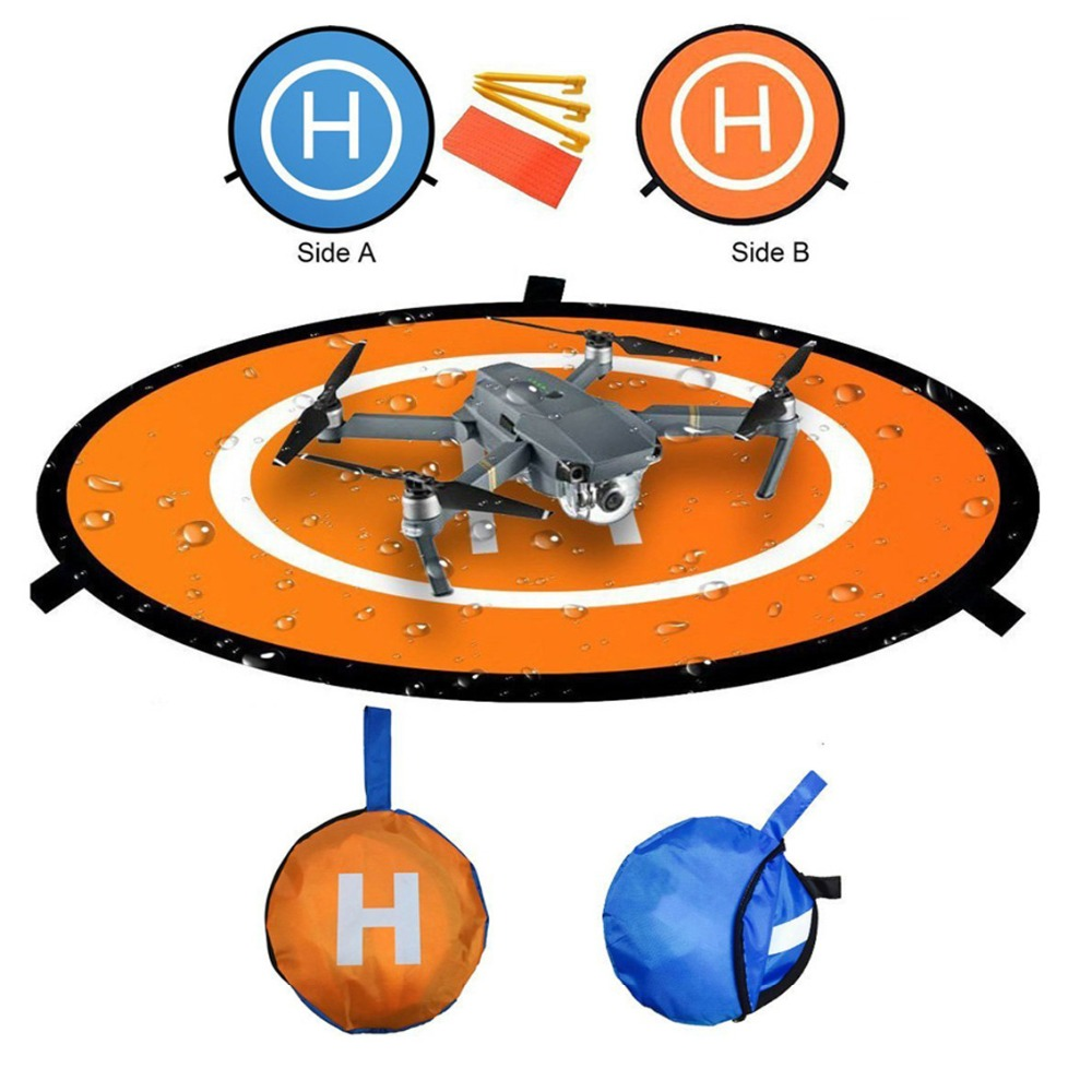 Universal Waterproof 75cm/30 Portable Foldable Landing Pad For DJI Mavic AIR / MAVIC Pro / Spark / Phantom 3 4 / Xiaomi Drone