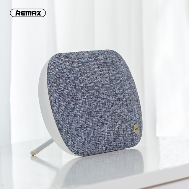 REMAX RB-M19 Wireless Bluetooth 4.2 Desktop Speaker HiFi Bass Stereo Support TF Card 3.5mm AUX IN