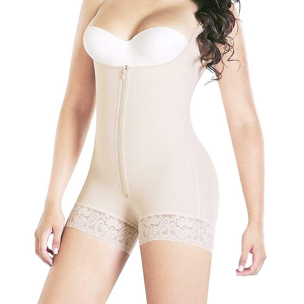 9fcf5609353 Full Body Shaper Tummy Control Bodysuit Waist Cincher Underbust Shapewear  Slimming Trainer Panties Gridle Corset Women