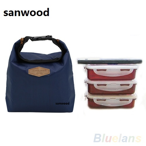 2016 Fashion Thermal Cooler Insulated Waterproof Lunch Storage Picnic Bag Pouch lunch bags  9IFD etya new portable lunch bag thermal insulated snack lunch box carry tote storage bag travel picnic food pouch for girls women