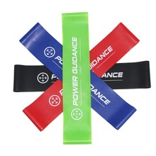Set di 4 livelli di resistenza al lattice Resistenza all'allenamento Banda Yoga Loops Bands Fitness Gym Equipment