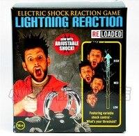 Free Shipping 4 People Lightning Reaction Revenge Electric Shock Game