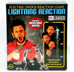 Free Shipping 4-People Lightning Reaction Revenge Electric Shock Game