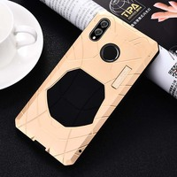 Luxury Outdoor IMATCH Sports Army Tactical Shockproof Metal Silicone Phone Case Cover For Coque Huawei Honor 8X 6.5 inch KS0130