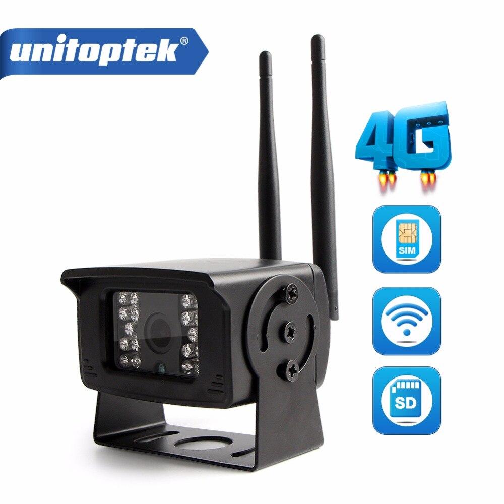 MINI 1080 P 4G carte SIM WIFI caméra Support extérieur Max 128G Micro TF stockage de carte IR 20 M CCTV caméras de Surveillance P2P vue