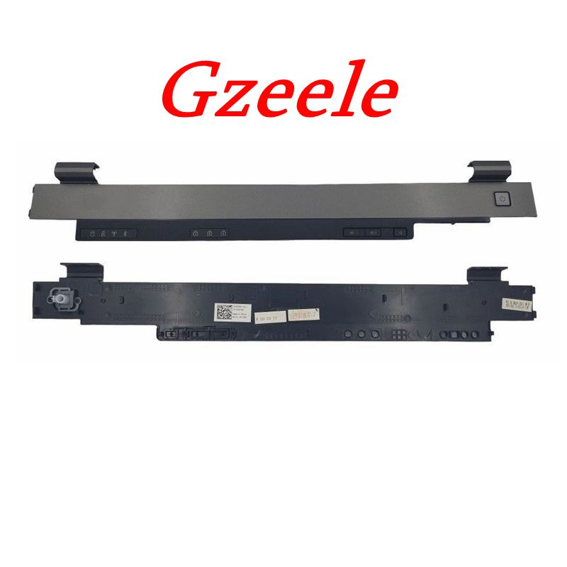 GZEELE NEW FOR Dell Latitude E5510 Center Control Power Button Cover Case HINGES COVER 0FTCRD FTCRD  GZEELE NEW FOR Dell Latitude E5510 Center Control Power Button Cover Case HINGES COVER 0FTCRD FTCRD