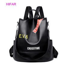 Backpack Female New Women PU Leather Backpack Bag Anti Theft High Quality Softback Urban Fashion School Bag Backpacks For Girls