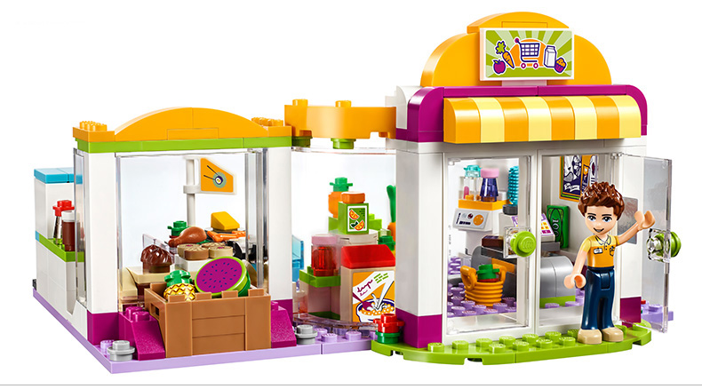 10494 City Supermarket Building Bricks Blocks Set Girl Toy Compatible Lepine Friends 41118 10494 city supermarket building bricks blocks set girl toy compatible lepine friends 41118