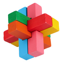 Wooden Interlocking Puzzle 2