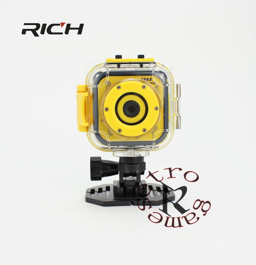 Qualified Portable Cute Mini Children Kid Camera Digital Video Camcorder Camera 1.77 Inch Sport Waterproof Nice Gift For Your Boy Girl Kid