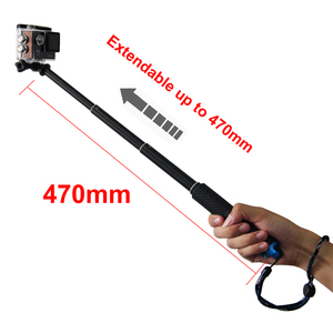 Image 3 - Extendable Handheld Stick Telescopic Monopod Tripod for Gopro Hero 7 black 6  F60 EKEN H9R For iphone Samsung