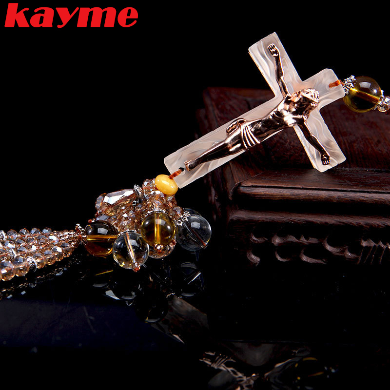 kayme car pendant charms for rearview mirror ornaments crystal auto hanging accessories car. Black Bedroom Furniture Sets. Home Design Ideas