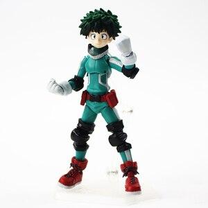 Image 2 - 15cm Figma 323 Midoriya Izuku Action Figure Mijn Hero Academia Anime Model Speelgoed Kinderen Gift
