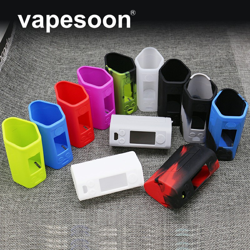 VapeSoon Newest Protective Silicone Case For Reuleaux RX GEN3 300w Box Mod 12 Colors Silicone Case