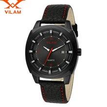 VILAM Casual male wrist Watches dz Sports Business quartz-watch mens watches top brand luxury military designer man clock 120104