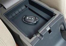 Caja de almacenamiento para Reposabrazos de Auto para hyundai ix35 2010-2017, accesorios para el coche