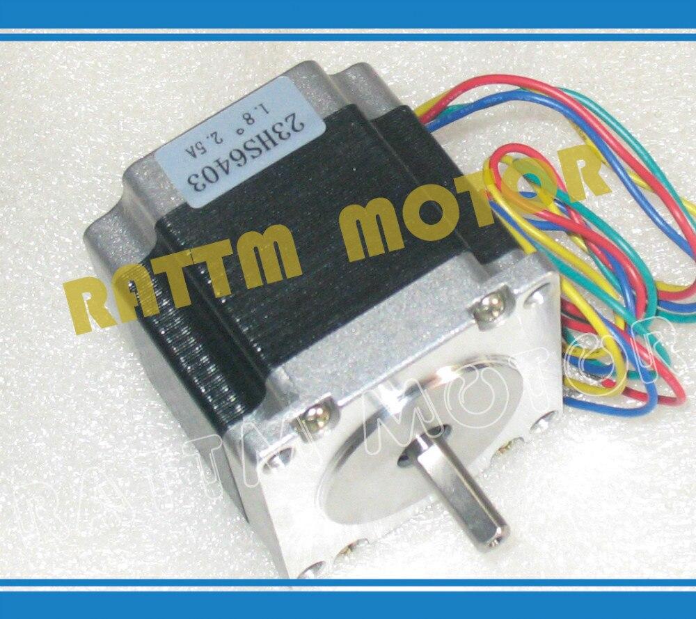 NEMA23 165 Oz-in CNC stepper motor stepping motor/2.5A
