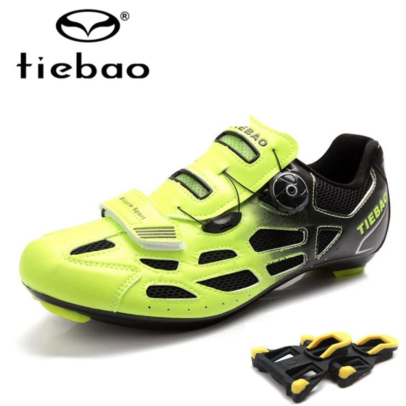 TIEBAO sapatilha ciclismo Road Cycling Shoes zapatillas deportivas mujer Outdoor Bike Bicycle Sneakers women Bike Shoes men tiebao black road bike shoes ultralight bicycle road shoes men cycling shoes self locking sport shoes zapatillas ciclismo