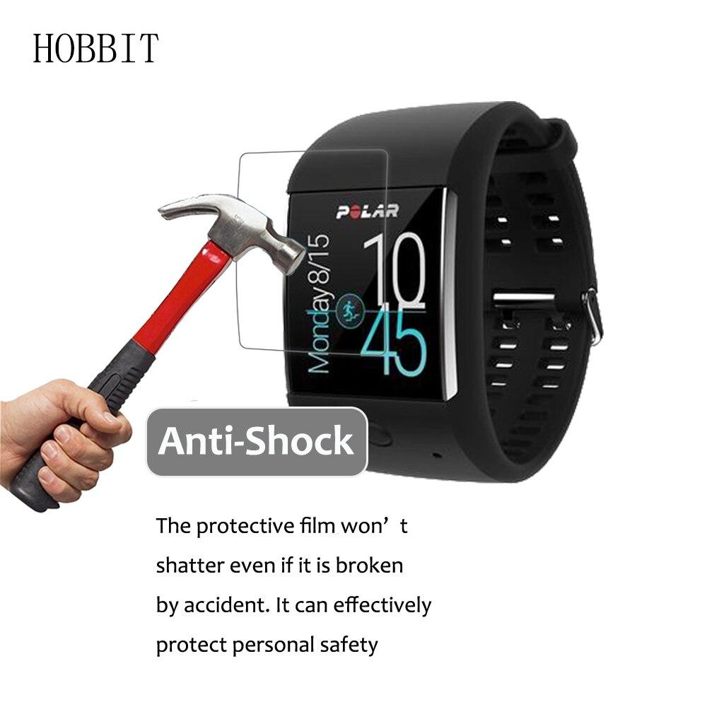 3 шт для полярных M600 спортивных Смарт-часы 5 H нано взрывозащищенные Экран протектор Высокое разрешение анти-шок ЖК-дисплей Gurad пленка