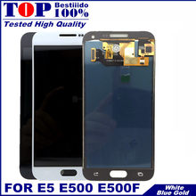 "5.0 ""E5 E500 หน้าจอ LCD สำหรับ Samsung Galaxy E5 E500 E500F E500H E500M จอแสดงผล LCD Touch Screen Digitizer Assembly (China)"