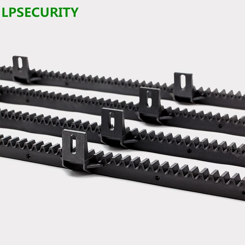 Nylon Gear Rack Rail For Auto Sliding Gate Opener 1 M Per Pc