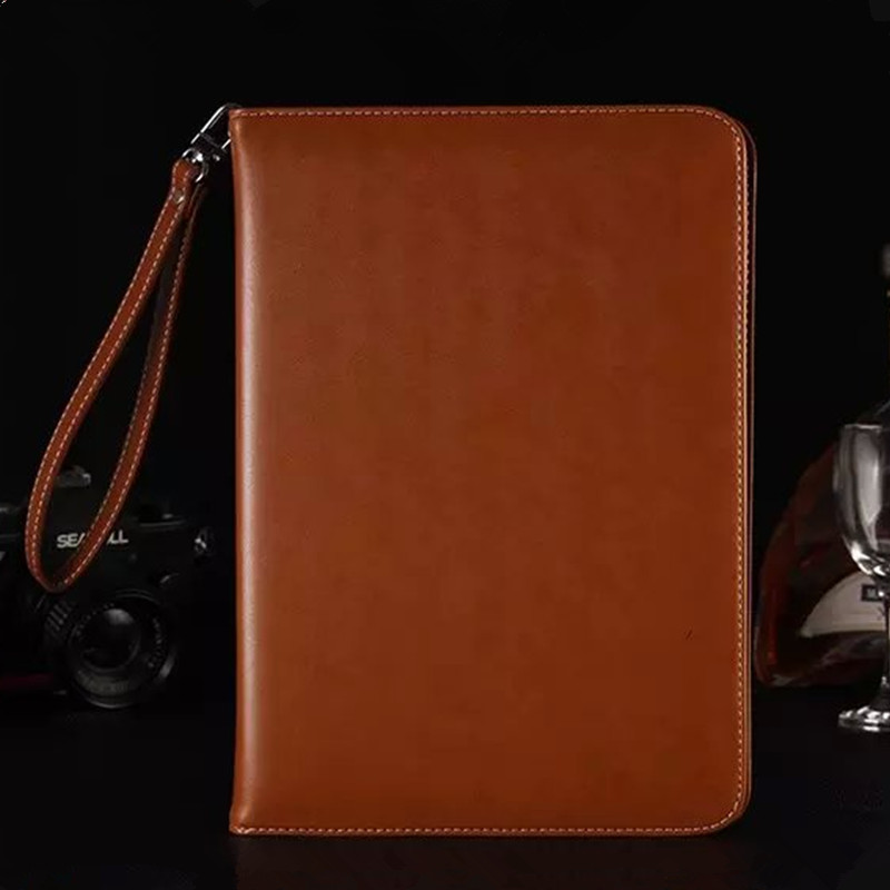 Flip PU Leather Case for Apple iPad Pro Wallet Style Smart Cover Tablet Stand Case for iPad Pro 12.9 with Card Slots Hand Strap for apple ipad pro 12 9 inch pu leather stand cover flip back case luxury business style smart tablet cover for ipad pro
