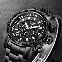 Relojes Hombre 2018 New LIGE Brand Fashion Sport Mens Watches Military Waterproof Full Steel Quartz Watch
