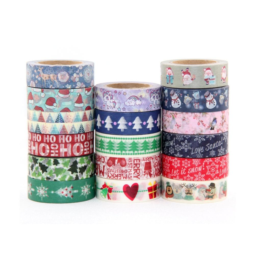 Купить с кэшбэком 30pcs/lot Kawaii Washi Tape Set Paper Decoration Masking Tape Planner Agenda Bullet Journal Stickers Hand Tear School Stationery