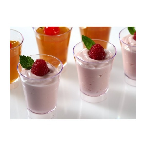 Online get cheap mini plastic dessert cups for Small plastic cups