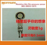Free ship 2pcs IMS 00010 C075 Ultra thin/ultralight film pressure sensor sensitivity better fsr force sensing resistor 500g