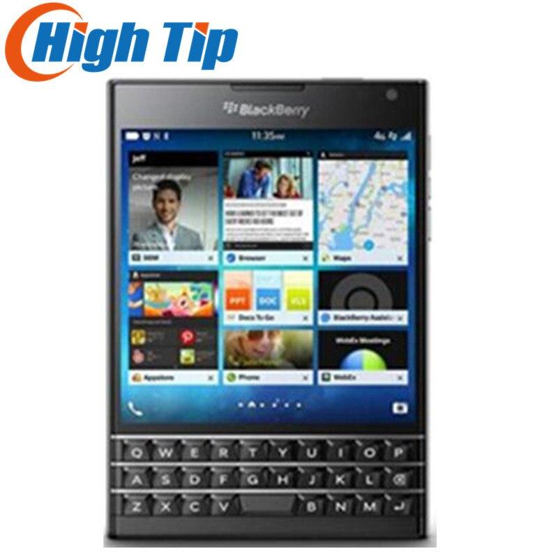 Téléphone portable d'origine Q30 débloqué BlackBerry passeport LTE BlackBerry OS 10.3 Quad core 3 GB RAM 32 GB ROM 13MP appareil photo reconditionné