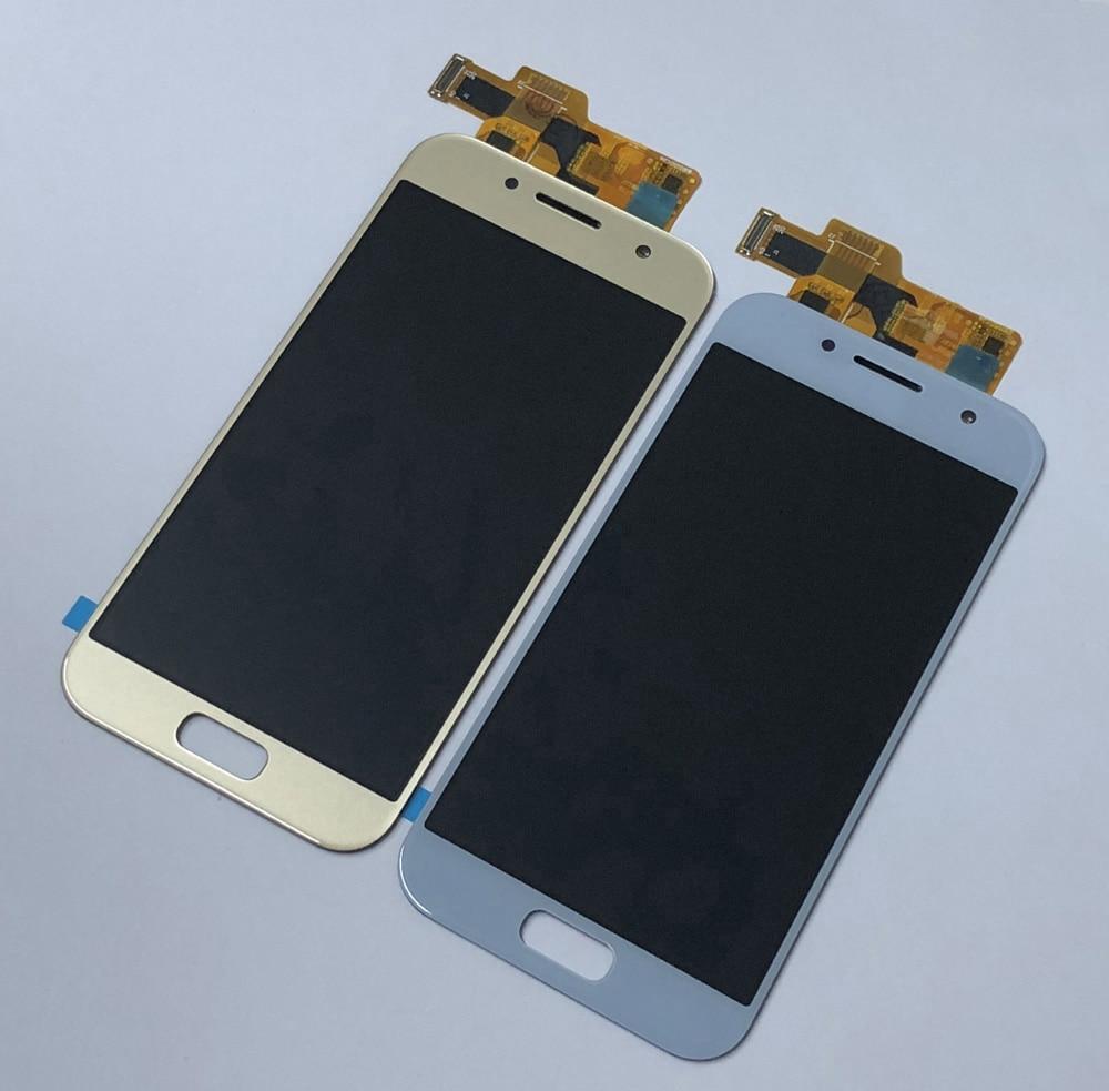 Pour Samsung Galaxy A3 2017 A320 A320M A320Y SM-A320F A320FD numériseur écran tactile capteur en verre + écran LCD panneau d'affichage