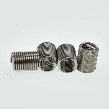 50 sztuk M6 * 1 * 3D śruba wątek nici z Mocowania ze stali nierdzewnej zestaw narzędzi do naprawy zwinięty drut spiralny śruba rękawem zestaw tanie i dobre opinie Drzewa wstaw Elektryczne M6*1*3D