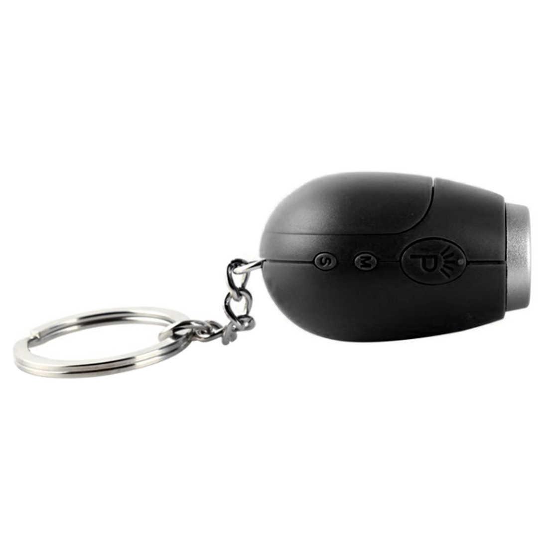 נייד שעון מיני דיגיטלי הקרנת LED Keychain עיצוב שעון לילה אור קסם מקרן שעון despertador