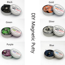 1 Pcs Creative Hand putty Brand DIY slime Playdough Magnetic Rubber Mud Strong plasticine Putty Magnetic Clay Toys Kids Gift