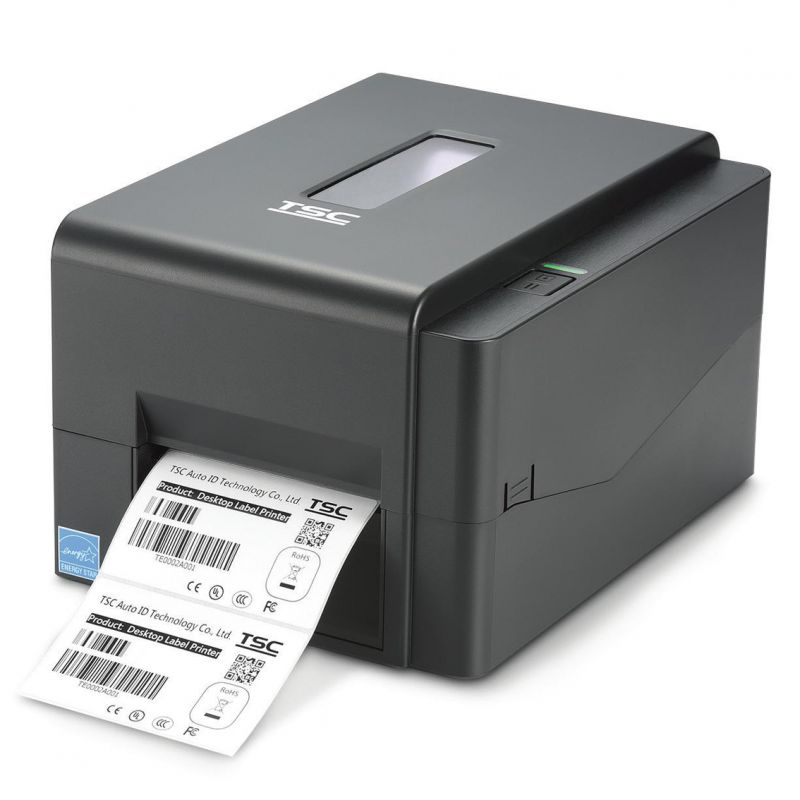Original Brand New TSC TTP-TE244 / TE244+ Desktop Thermal Transfer & Direct Thermal Labels Bluetooth Barcode Printer 203dpi image