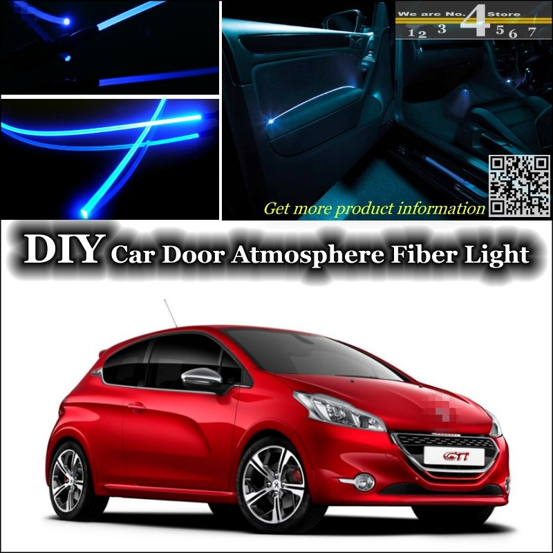 2 ampoules à LED Lumière coffre à bagages  Blanc Peugeot 207 208 307 308 508 407