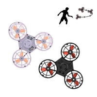 Pressure Reliever Toy Spinning Darts Flying Fidget Spinner Toy Mini Automatic Rotatable Low Speed Flying Spinner