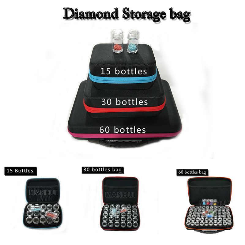 Алмаз коробка для хранения новый алмаз для алмазной вышивки инструмент для хранения сверла молния для сумки дизайн T04