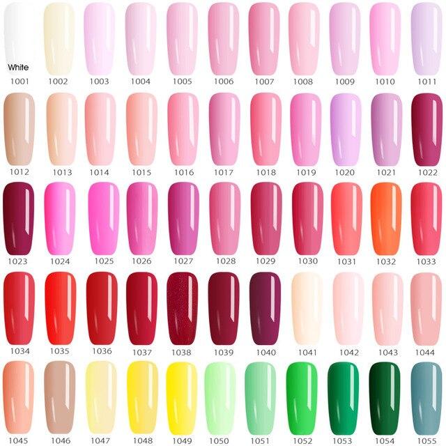 12ml Gel Varnish Nail Art hot sale Colors VENALISA Soak off Organic Odorless Enamels LED UV Nail Gel color Polish 4