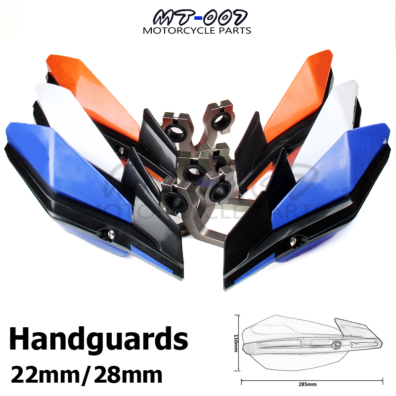 Motorcycle Handguards Hand Guards For Motocross Dirt Bike EXC EXCF SX SXF SXS MXC MX XC XCW XCF XCFW EGS LC4 Enduro cnc stunt clutch lever easy pull cable for ktm exc excf xc xcf xcw xcfw mx egs sx sxf sxs smr 525 530 enduro freerider six days