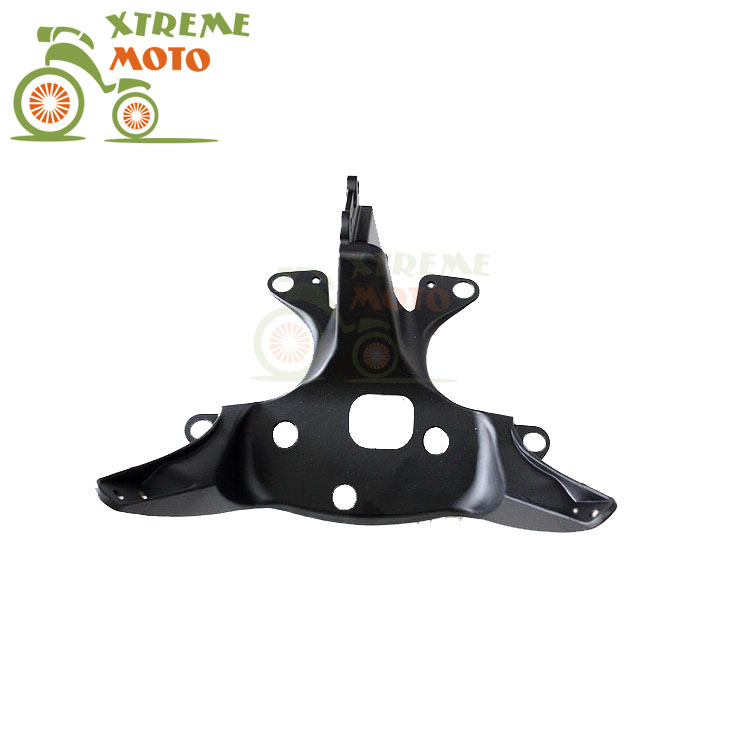 Aluminum Black Motorcycle Front Upper Fairing Bracket Stay Racer Light For YAMAHA YZF R6 1999-2002 1999 2000 2001 2002