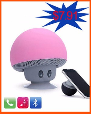 Cute speaker Mushroom