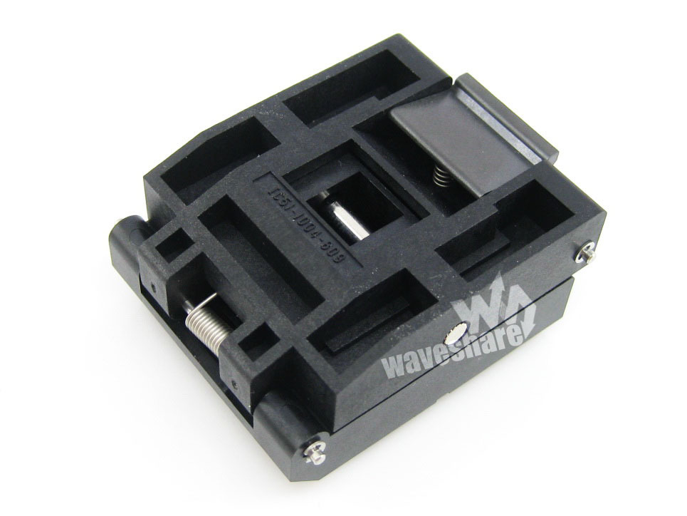 module QFP100 TQFP100 FQFP100 PQFP100 IC51-1004-809 Yamaichi QFP IC Test Burn-in Socket Programming Adapter 0.5mm Pitch import block adapter ic51 0562 1387 adapter tsop56 test burn