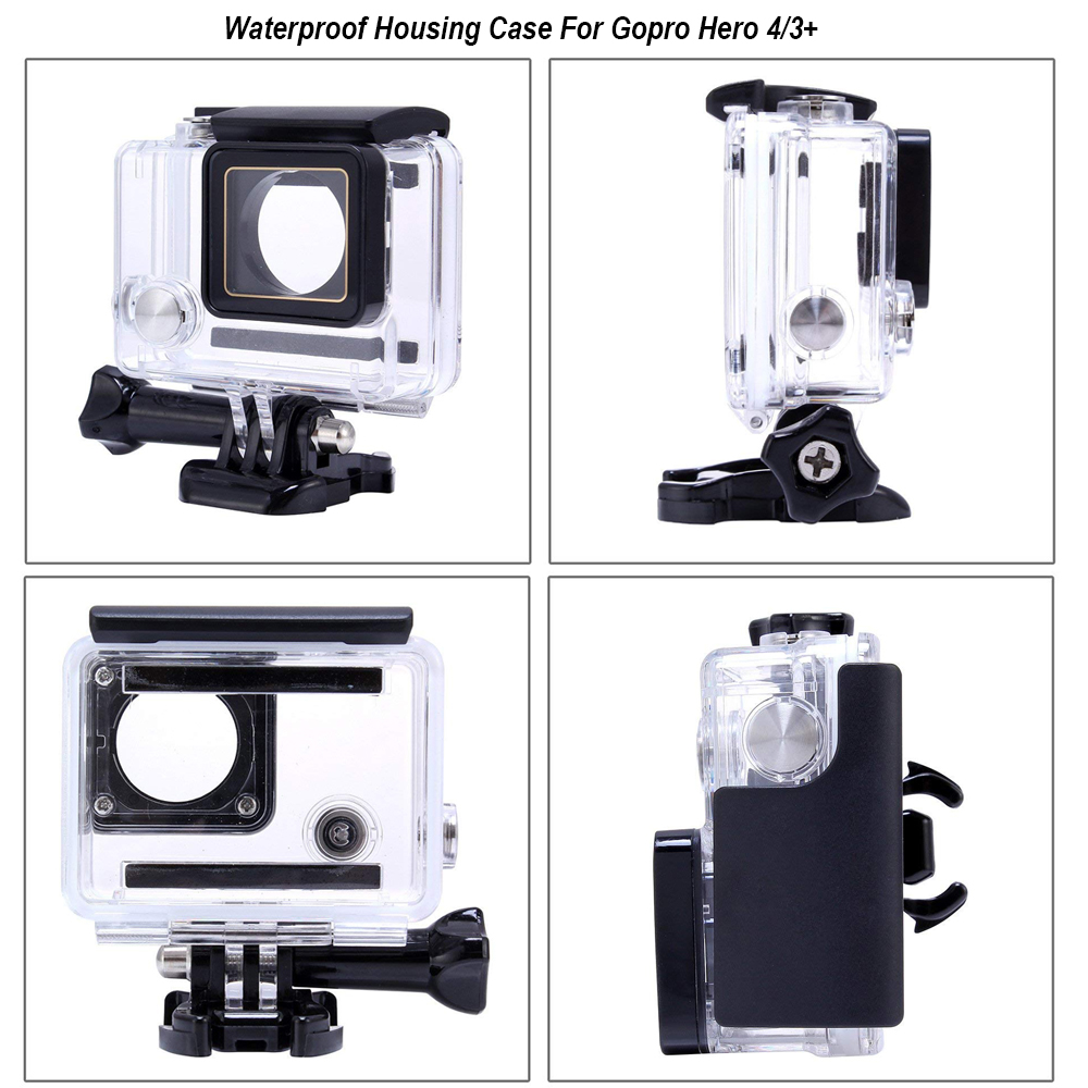 Image 5 - Waterproof Camera Housing Case Small Storage Box Hard Bag For Gopro Hero 6 5 4 3 3+ 5 Session Underwater Protector Case Cover-in Sports Camcorder Cases from Consumer Electronics