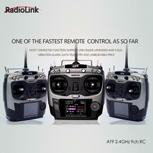 Radiolink AT9 2 4GHz 9 Channel Transmitter Receiver RC remote controller for RC font b drone