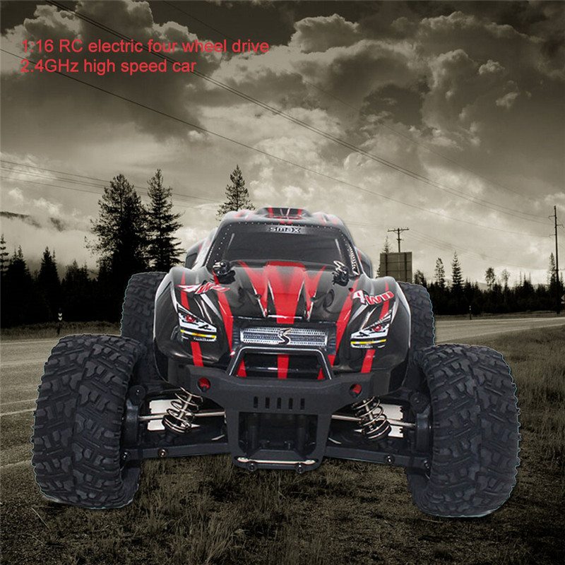 RC Off-Road Truck 1/16 2.4G 4WD Monster Dirt Bike Brushed High Speed Remote Control Car Toys With Transmitter RTR 1631 VS 9115  children car model toy sandy land truck with light remote control dirt bike 9301 1 rc car 1 18 2 4g 2wdelectric racing car